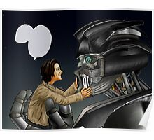 Transformers AU - Supernatural Poster