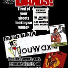 Bands Poster by Louwax