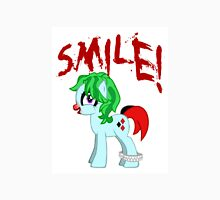SMILE! My Little Joker Harley Quinn Pony: Friendship is Tragic Unisex T-Shirt