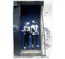 "D-Base ""CCTV Heads"" Poster"