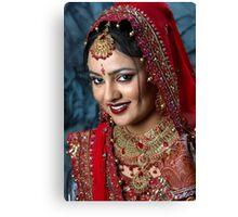 Perfect Bride Canvas Print