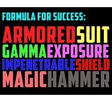 Avengers Formula for Success Photographic Print