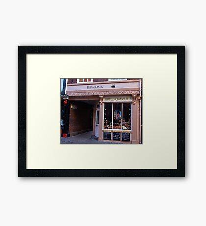 Fudgetatic  - York Framed Print