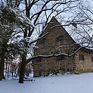 Rustic Winter Scene by Mark Van Scyoc