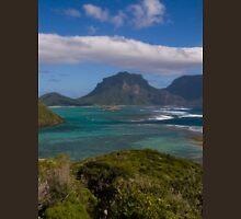 an awe-inspiring Solomon Islands landscape Unisex T-Shirt