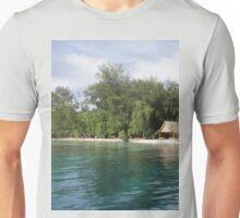 a desolate Solomon Islands landscape Unisex T-Shirt