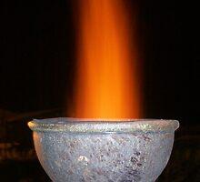 chimney fire by Dani Hughes