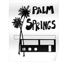Palm Springs Vacation Travel Poster