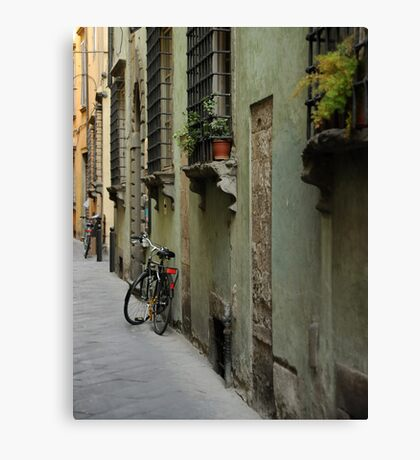 Lonely Twins Canvas Print