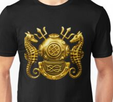 Deep Sea Diving Badge Unisex T-Shirt