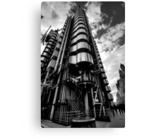 Lloyd's of London in Monochrome Canvas Print