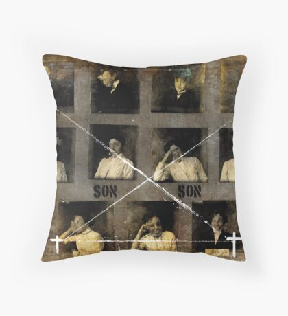 FAMILY DISASTERS (PART 3) Throw Pillow