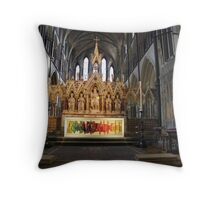 Worcester cathedral Throw Pillow