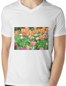 Garden Mens V-Neck T-Shirt