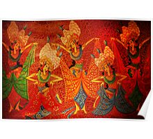 Balinese Painting Poster