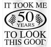 Funny 50th Birthday Poster