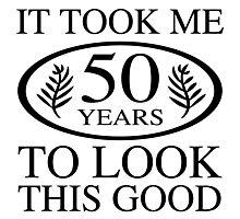 Funny 50th Birthday Photographic Print