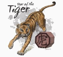 Chinese Zodiac - The Tiger Kids Tee