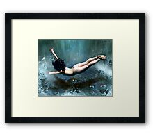 the evidences of unseen things.... Framed Print