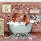 Miss Suzy Takes a Bath by Aimee Stewart