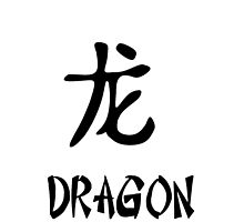 Chinese Dragon Hieroglyphic  by Charg3R