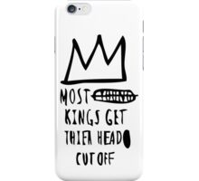 Most Kings TXT BLK iPhone Case/Skin