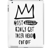 Most Kings TXT BLK iPad Case/Skin