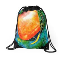 Tropics...The Mango Tree Drawstring Bag