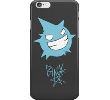 Black star soul iPhone Case/Skin