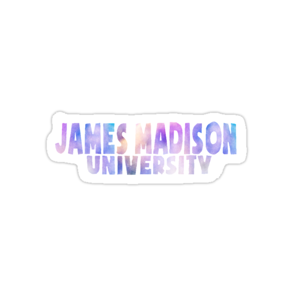 Quot James Madison University Quot Stickers By Oliviagaber Redbubble