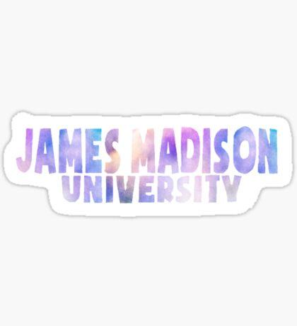 james madison university Sticker