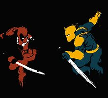 Wade VS Wilson by sullyink