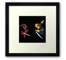 Wade VS Wilson Framed Print