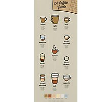 A Coffee Guide Photographic Print