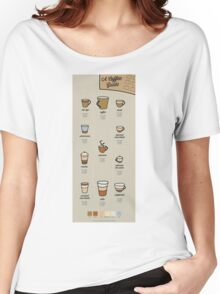 A Coffee Guide Women's Relaxed Fit T-Shirt