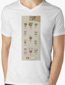 A Coffee Guide Mens V-Neck T-Shirt