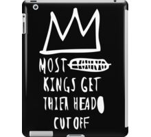 Most Kings TXT WHT iPad Case/Skin