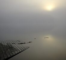 Dock at Opeongo by Tracy Faught