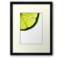 Sweet and Sour Framed Print