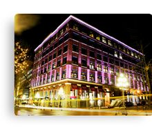 Gastown Evening Canvas Print