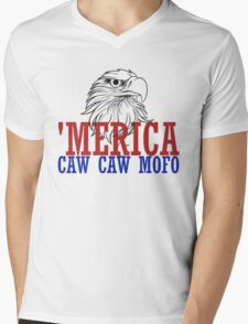 CAW CAW mofo 4th of july Mens V-Neck T-Shirt