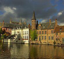 Wonderful Brugge by Béla Török