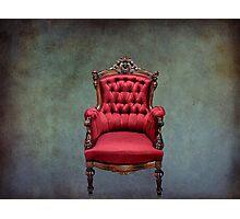 Grandmas's Chair Photographic Print