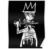 King Cut WHT Poster