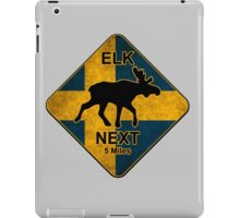 Swedish elk iPad Case/Skin