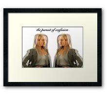 twins by:glenn goulding copyright Framed Print