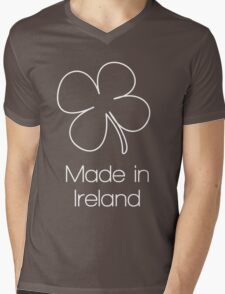 Four Leaf Clover - Mens V-Neck T-Shirt