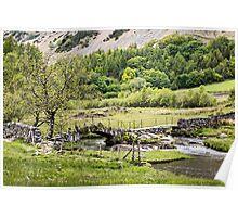 Slater's Bridge Little Langdale Poster