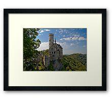 an exciting Liechtenstein landscape Framed Print