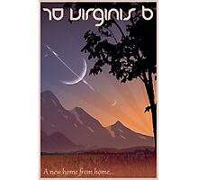 Space Travel Poster 70 Virginis B Photographic Print